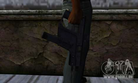 Tec9 from State of Decay für GTA San Andreas dritten Screenshot