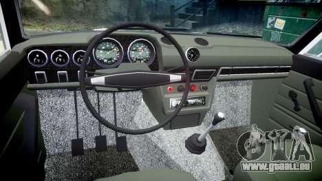 VAZ-2106 aquarium pour GTA 4 Vue arrière