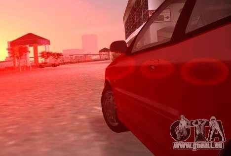 Daewoo Lanos Sport NOUS 2001 pour GTA Vice City vue latérale