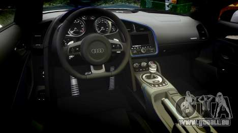 Audi R8 LMX 2015 [EPM] Sharpie pour GTA 4 est une vue de l'intérieur