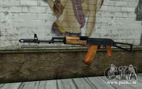 AKC74 avec Crosse pour GTA San Andreas