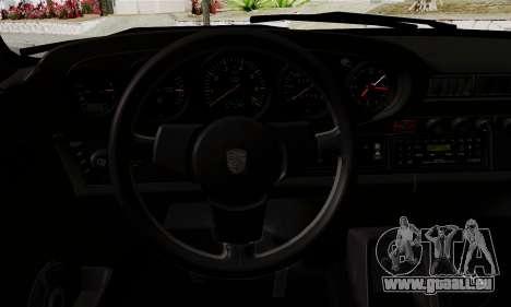 Porche 911 Turbo 1982 pour GTA San Andreas vue de droite
