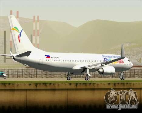 Boeing 737-800 South East Asian Airlines (SEAIR) für GTA San Andreas Räder