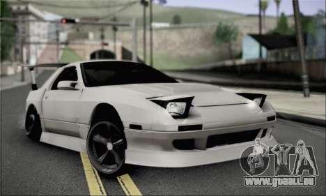 Mazda FC3S für GTA San Andreas