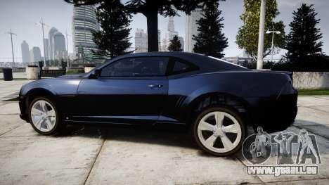Chevrolet Camaro SS [ELS] Unmarked interceptors für GTA 4 linke Ansicht