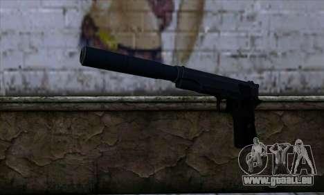 New Silenced Colt45 pour GTA San Andreas