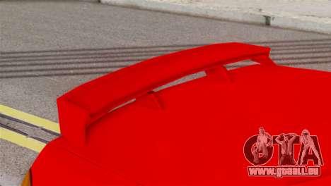 Honda CRX pour GTA San Andreas sur la vue arrière gauche