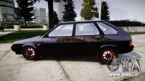 VAZ-2109-Legierung für GTA 4 linke Ansicht