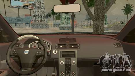 Volvo C30 Stanced pour GTA San Andreas sur la vue arrière gauche