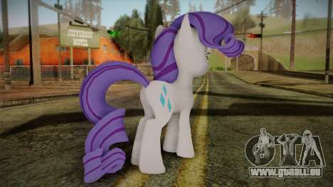 Rarity from My Little Pony für GTA San Andreas zweiten Screenshot
