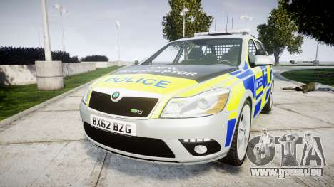 Skoda Octavia vRS Comb Metropolitan Police [ELS] für GTA 4