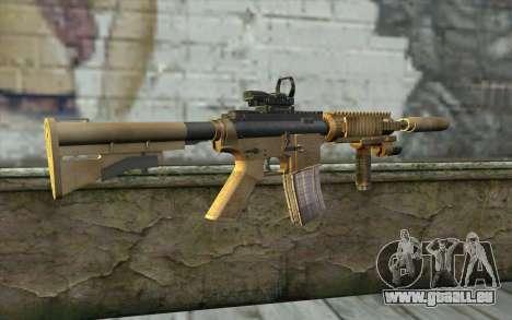 M4A1 Sopmod für GTA San Andreas zweiten Screenshot