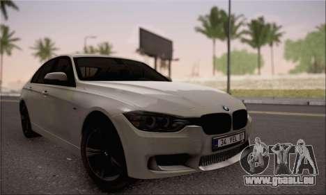 BMW F30 320d für GTA San Andreas