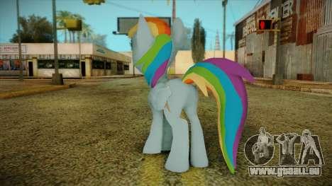 Rainbow Dash from My Little Pony pour GTA San Andreas deuxième écran
