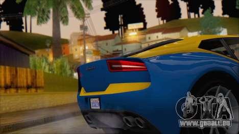 GTA 5 Lampadati Furore GT (IVF) pour GTA San Andreas vue de droite