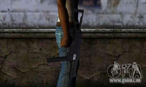 UMP45 v2 pour GTA San Andreas troisième écran