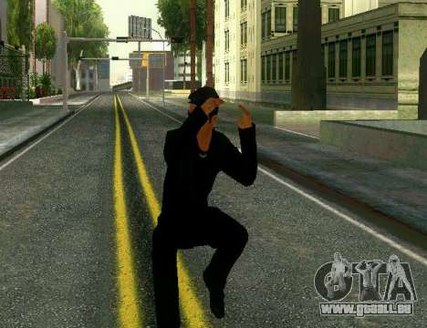Ped Awesone New Version pour GTA San Andreas
