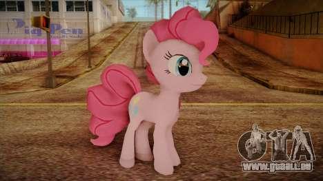 Pinkie Pie from My Little Pony für GTA San Andreas