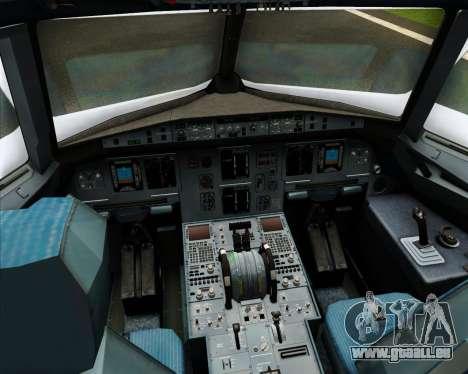 Airbus A320-200 Cebu Pacific Air für GTA San Andreas Innen