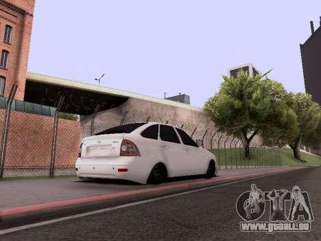 VAZ 2172 für GTA San Andreas Seitenansicht