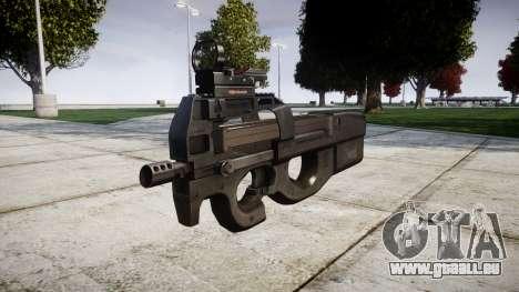 Belge mitraillette, FN P90 cible pour GTA 4