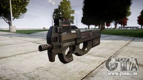 Belgische Maschinenpistole, FN P90 Ziel für GTA 4