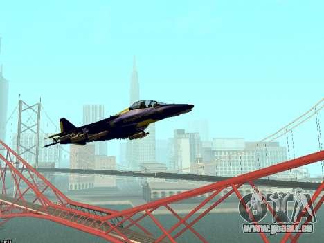 BlueAngels Hydra pour GTA San Andreas laissé vue