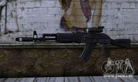 AK-103 Ravaged für GTA San Andreas