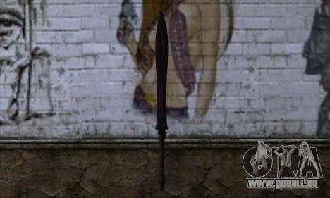 Unnamed Sword für GTA San Andreas zweiten Screenshot