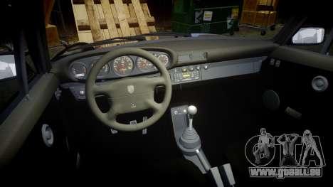 Porsche 911 (964) Coupe Razval pour GTA 4 est une vue de l'intérieur