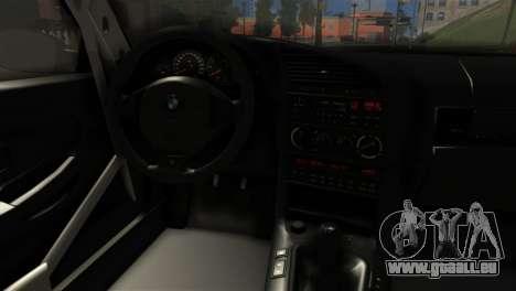 BMW M3 E36 Bucale Drift für GTA San Andreas zurück linke Ansicht