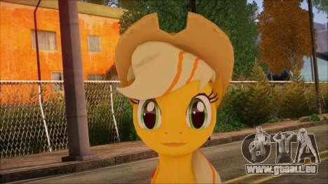 Applejack from My Little Pony für GTA San Andreas dritten Screenshot