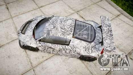 Audi R8 LMS Sharpie pour GTA 4 est un droit