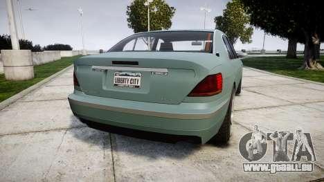 Ubermacht Oracle Elegance für GTA 4 hinten links Ansicht