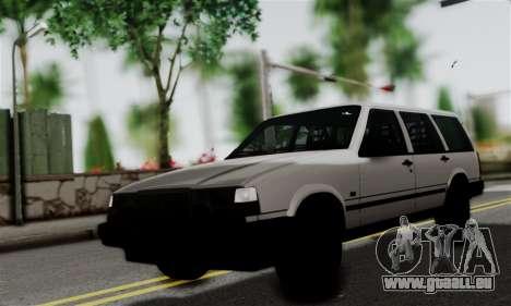 Volvo 940 pour GTA San Andreas sur la vue arrière gauche