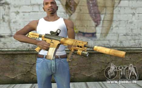 M4A1 Sopmod für GTA San Andreas dritten Screenshot
