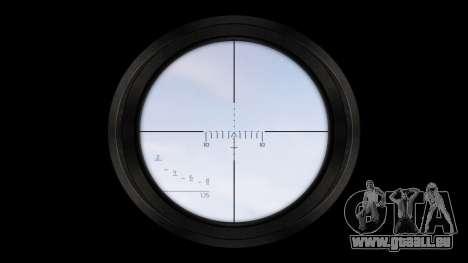 American fusil de sniper SR-25 pour GTA 4 troisième écran