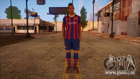 Neymar Skin für GTA San Andreas