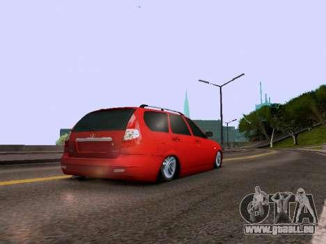 VAZ 2171 pour GTA San Andreas vue de droite