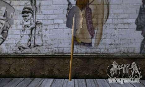 New Shovel für GTA San Andreas