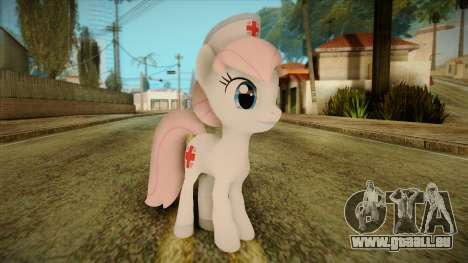 Nurseredheart from My Little Pony pour GTA San Andreas