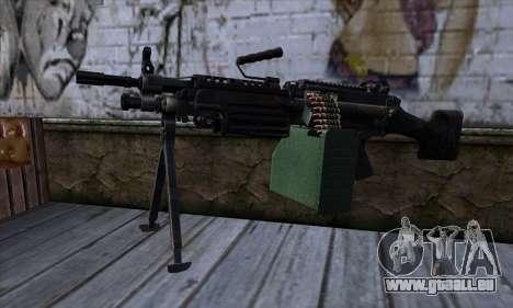 M249 v1 für GTA San Andreas