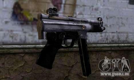 Tec9 from Call of Duty: Black Ops pour GTA San Andreas deuxième écran