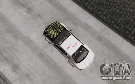 Nissan Silvia S15 VCDT für GTA San Andreas Rückansicht