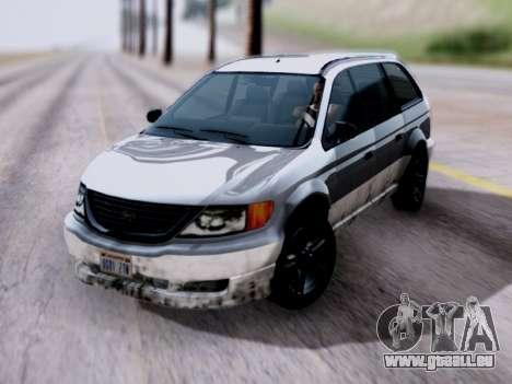GTA V Minivan pour GTA San Andreas