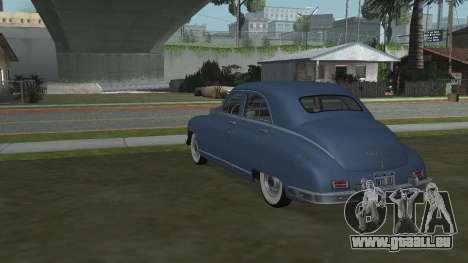 Packard Touring  Sedan pour GTA San Andreas laissé vue