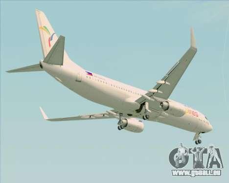 Boeing 737-800 South East Asian Airlines (SEAIR) für GTA San Andreas Seitenansicht