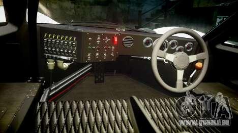Ford GT40 Mark IV 1967 PJ Mixlub 21 für GTA 4 Rückansicht