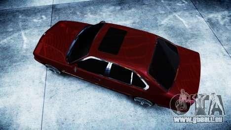 BMW M5 E34 1995 Stock pour GTA 4 est un droit