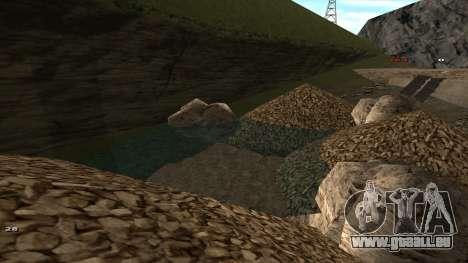 Трасса Offroad v1.1 par Rappar313 pour GTA San Andreas huitième écran